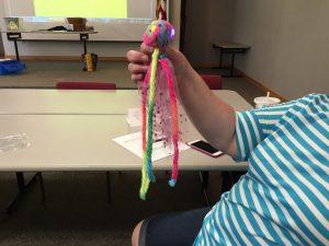 Yarn creature!
