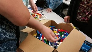 Everyone loves playing with Legos!